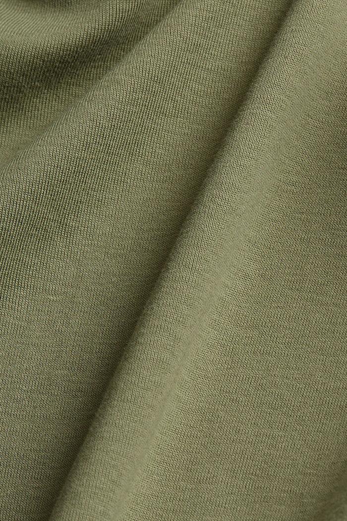 Vest top made of 100% organic cotton, LIGHT KHAKI, detail image number 4