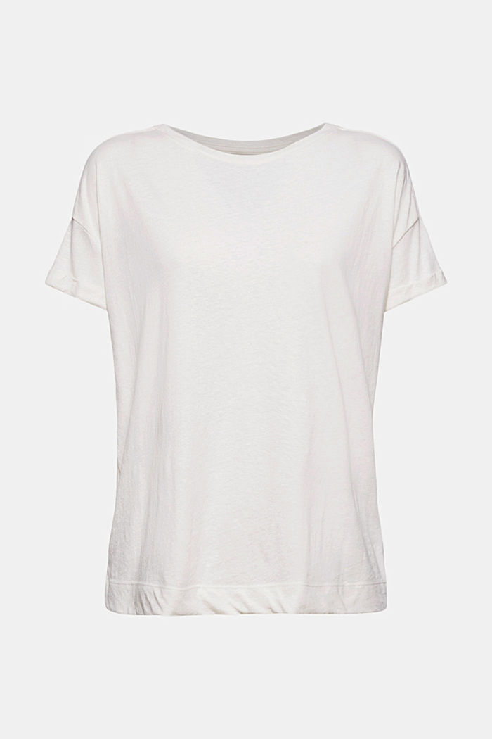 Recycled: T-shirt with organic cotton