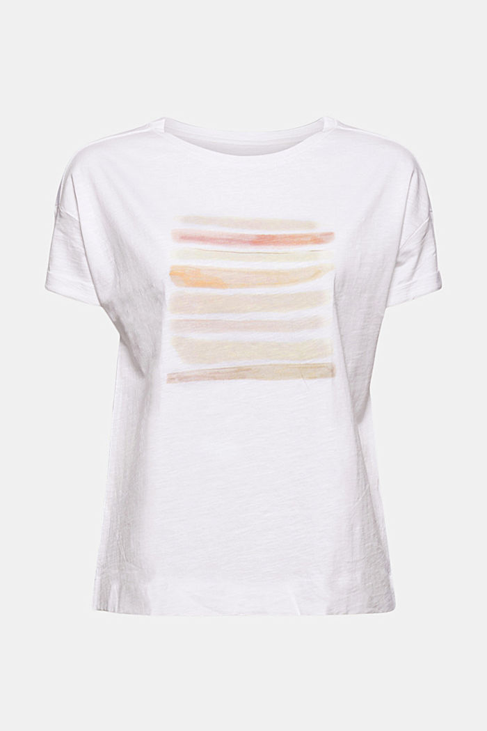 T-shirt with print, organic cotton