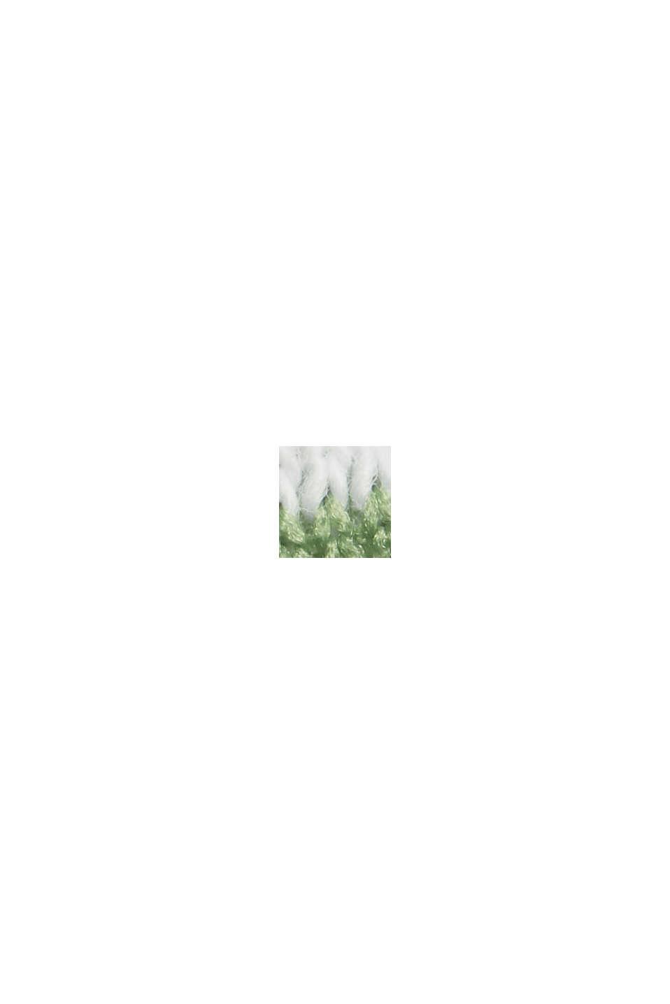 Gerecycled: tanktop met biologisch katoen, LEAF GREEN, swatch