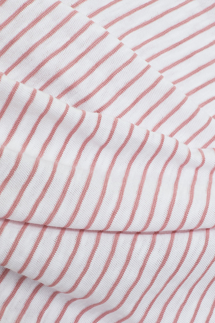 Recycled: sleeveless top with organic cotton, PINK, detail image number 4