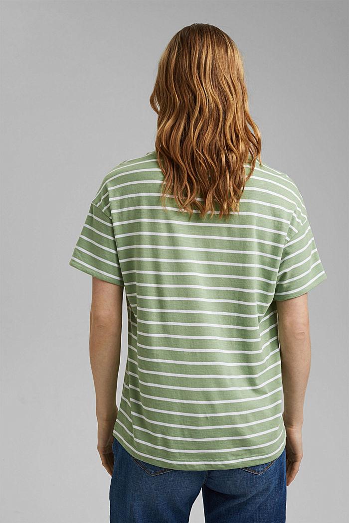 T-Shirt aus Organic Cotton und TENCEL™/Modal, LEAF GREEN, detail image number 3