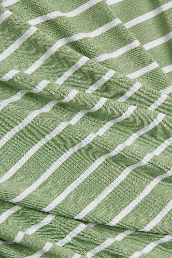 T-Shirt aus Organic Cotton und TENCEL™/Modal, LEAF GREEN, detail image number 4