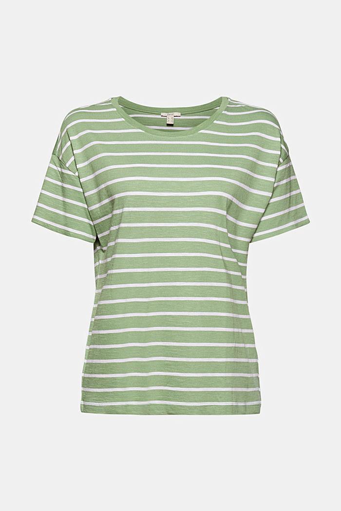 T-Shirt aus Organic Cotton und TENCEL™/Modal, LEAF GREEN, detail image number 5