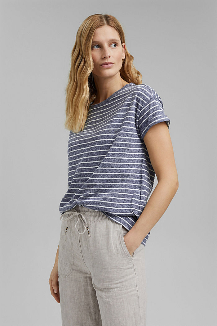 Gerecycled:-shirt met organic cotton