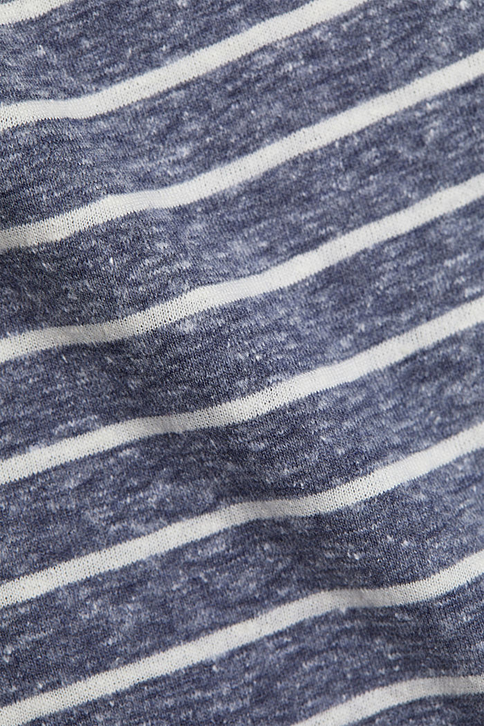 Recycled: T-shirt with organic cotton, NAVY, detail image number 3