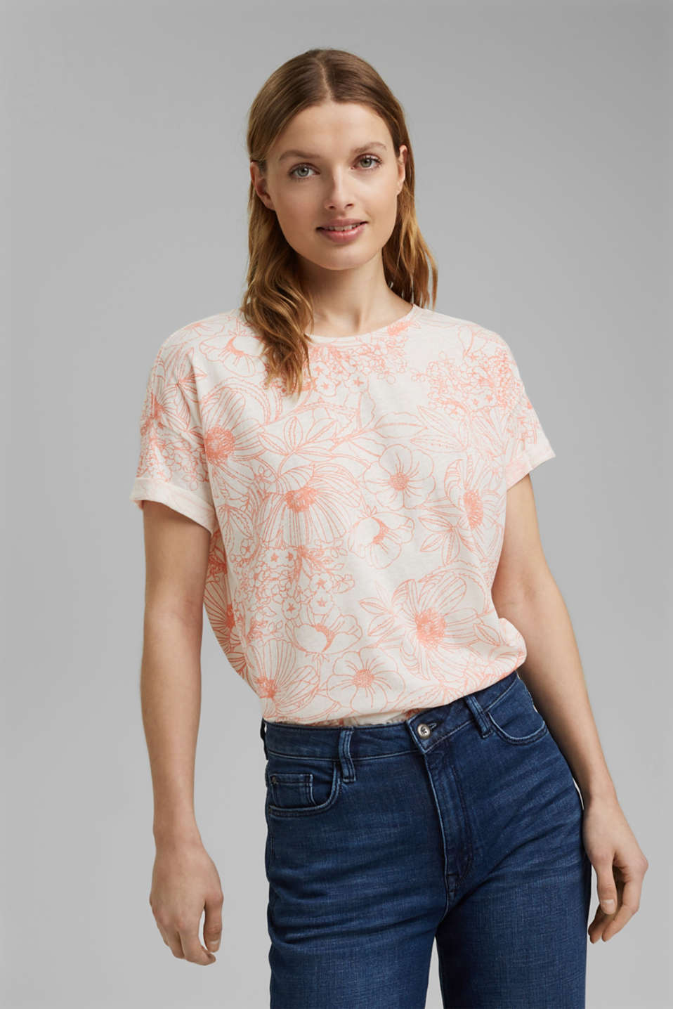 Esprit - Recycled: T-shirt with organic cotton