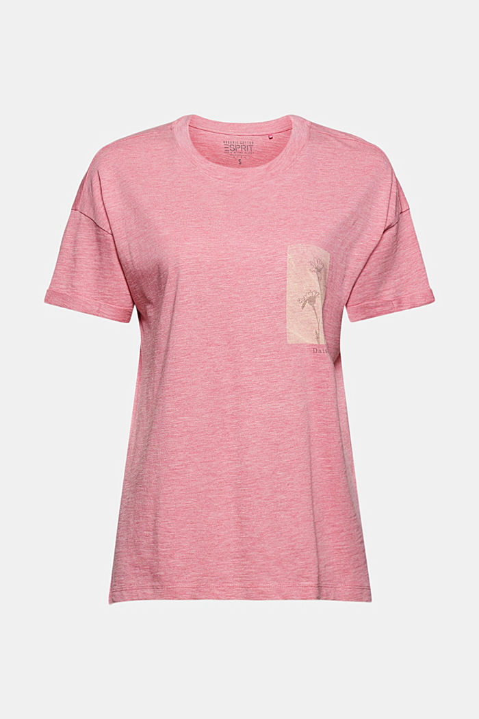 Made of TENCEL™/organic cotton: loose T-shirt
