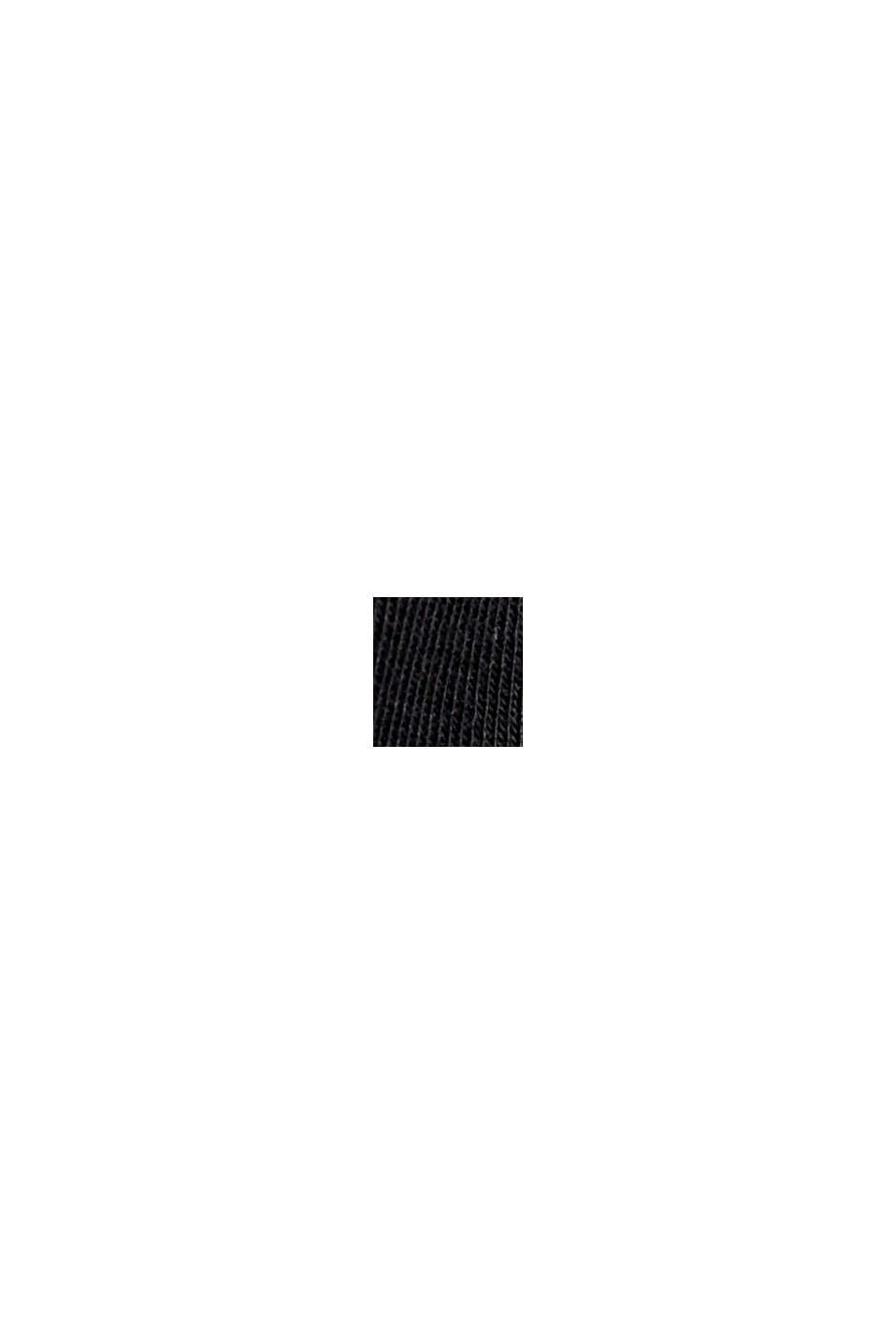 Basic T-shirt van 100% biologisch katoen, BLACK, swatch