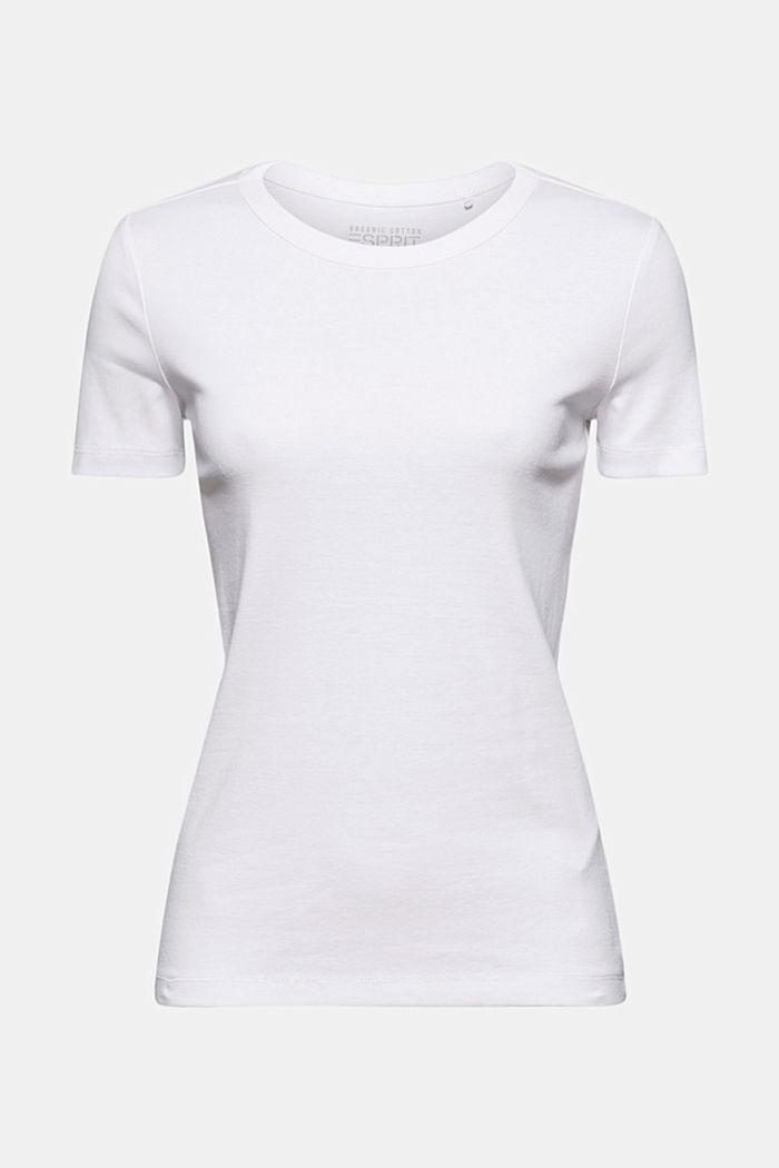 Basic T-shirt van 100% biologisch katoen