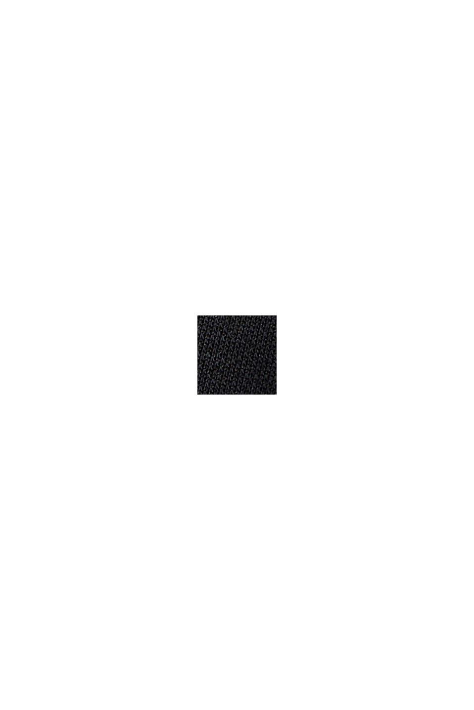 Met modal: mouwloos shirt, BLACK, swatch