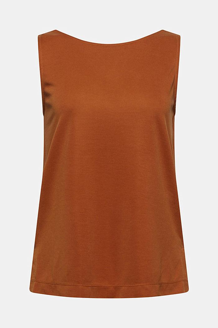 S modalem: tričko bez rukávů