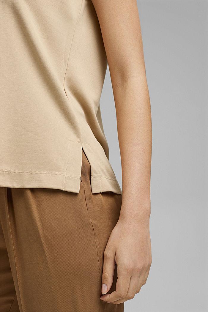 Sisältää modaalia: hihaton paita, SAND, detail image number 2
