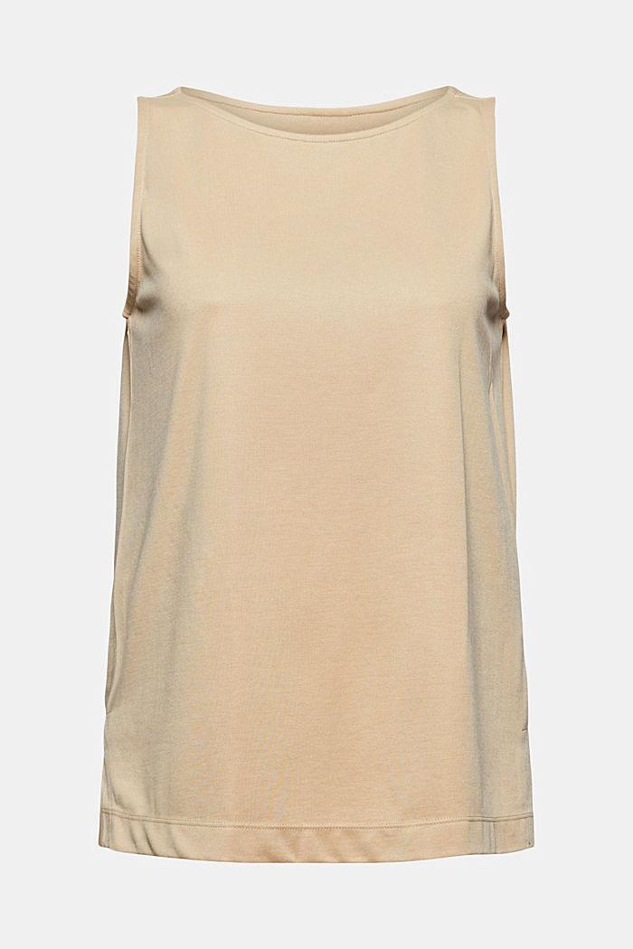 Sisältää modaalia: hihaton paita, SAND, detail image number 5