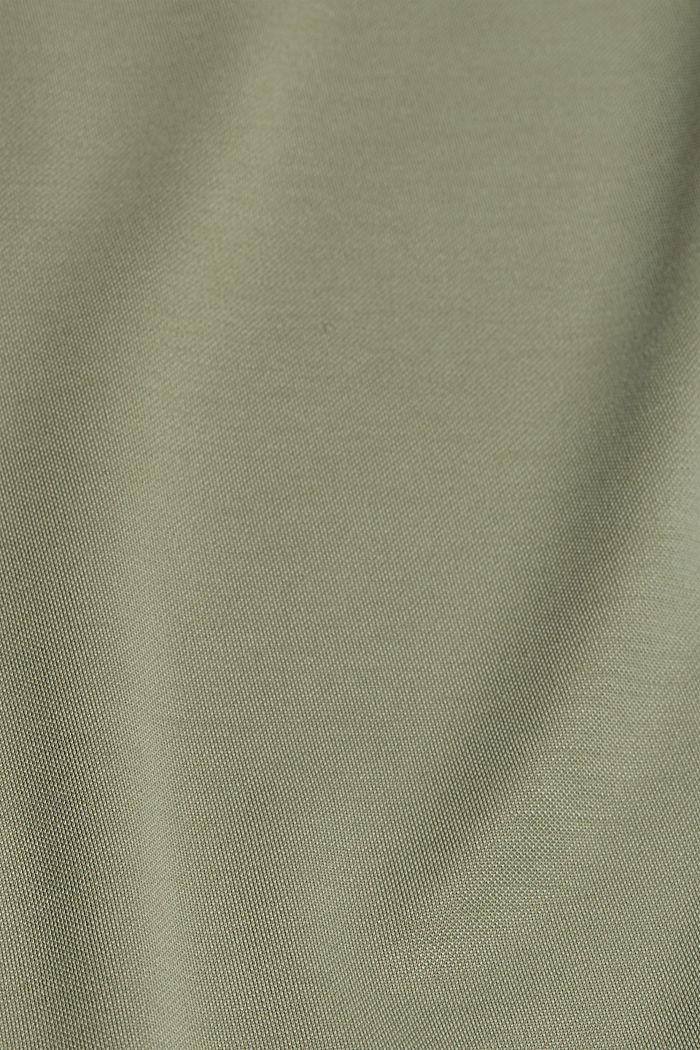 Aus Modal-Mix: fließendes T-Shirt, LIGHT KHAKI, detail image number 4