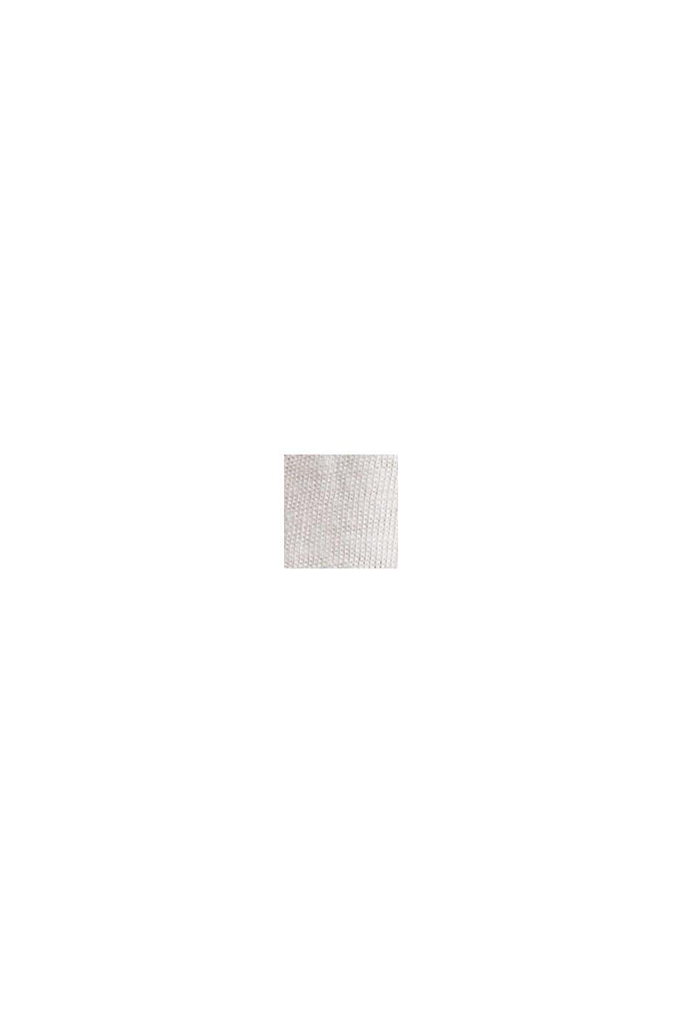 CURVY Recycelt: T-Shirt aus Materialmix, OFF WHITE, swatch