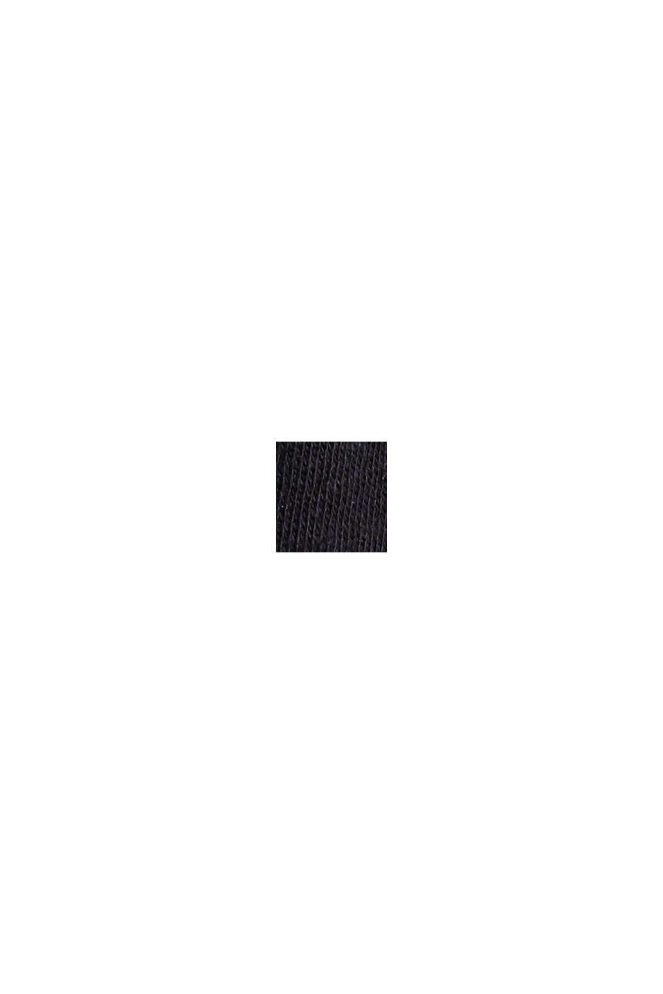 CURVY-toppi, sisältää pellavaa, BLACK, swatch
