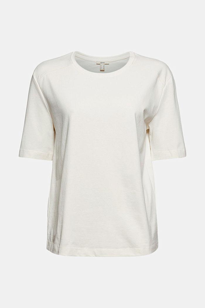 T-shirt 100 % coton biologique, OFF WHITE, detail image number 6