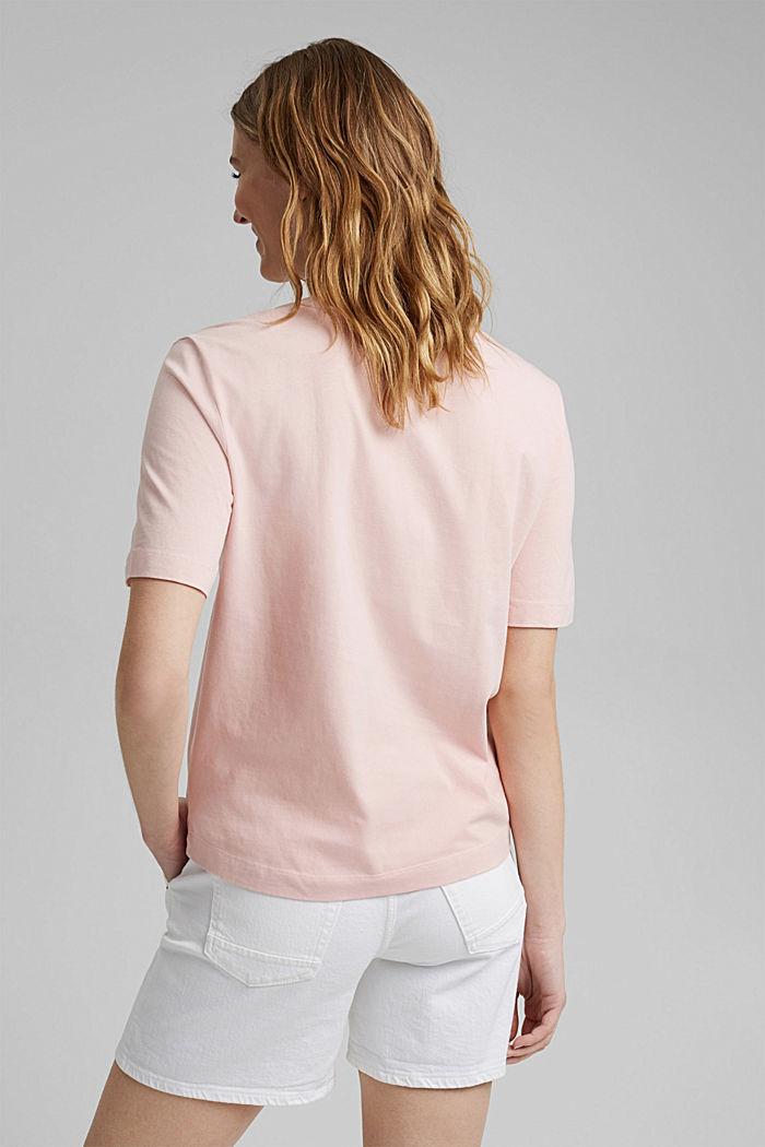 T-shirt van 100% organic cotton, NUDE, detail image number 3