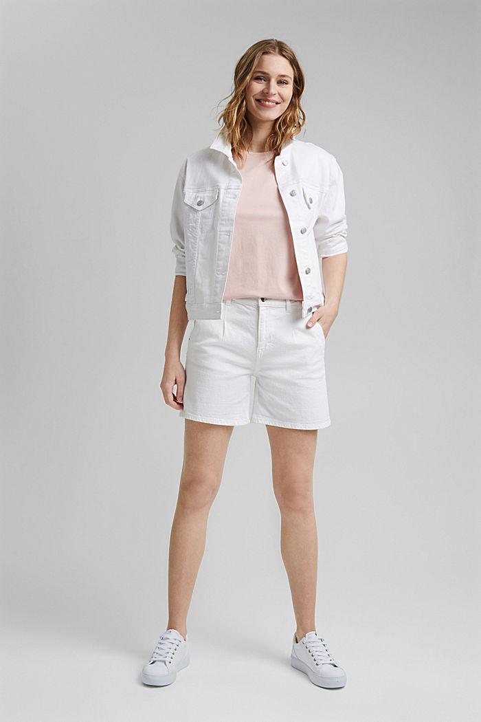T-shirt van 100% organic cotton, NUDE, detail image number 1