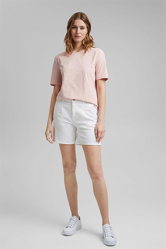 T-shirt van 100% organic cotton, NUDE, detail image number 5