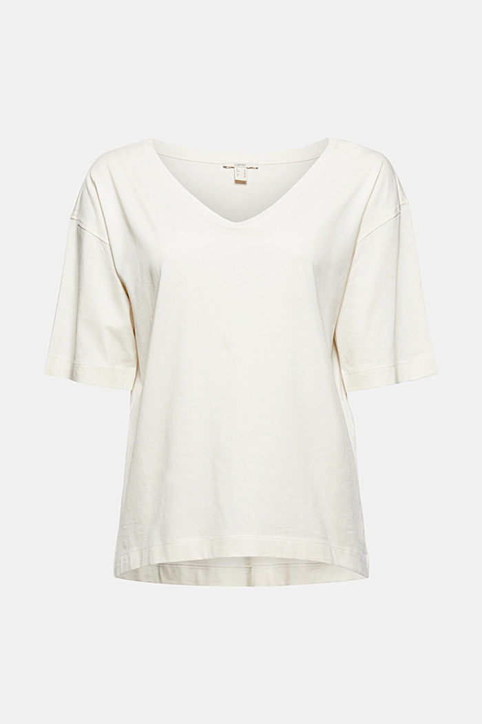 Oversized T-shirt made of 100% organic cotton
