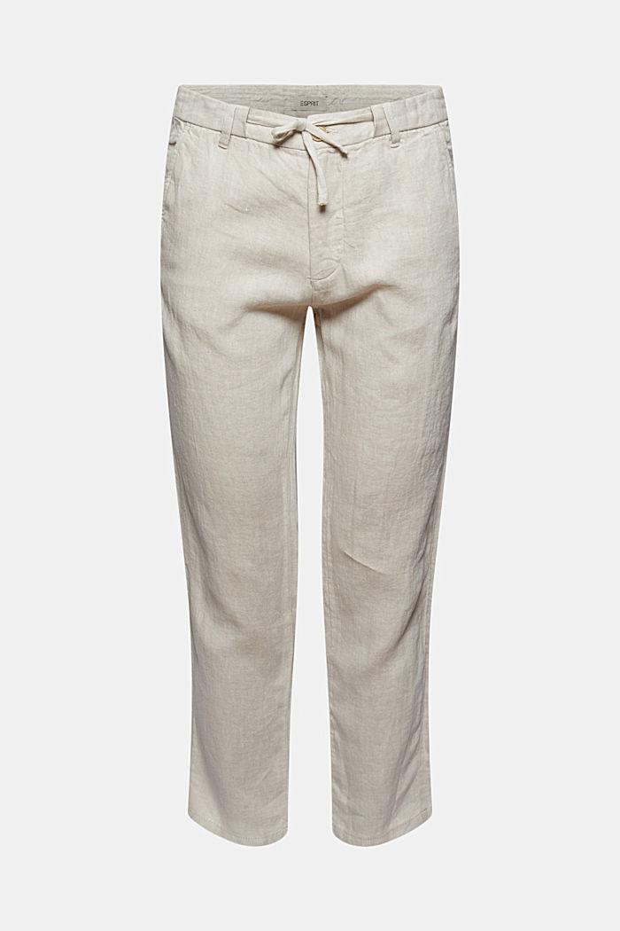 Relaxte Hose aus Premium Leinen