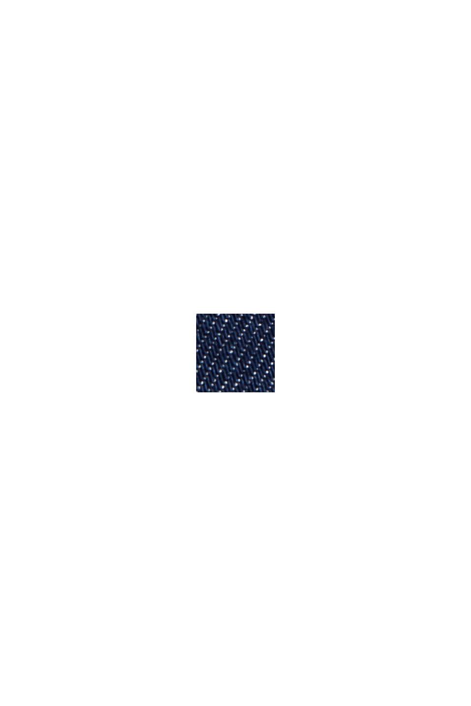 Jeans in chinostijl met biologisch katoen, BLUE DARK WASHED, swatch