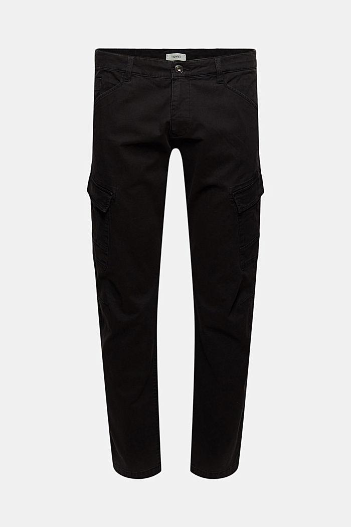 Pantalones cargo en algodón ecológico