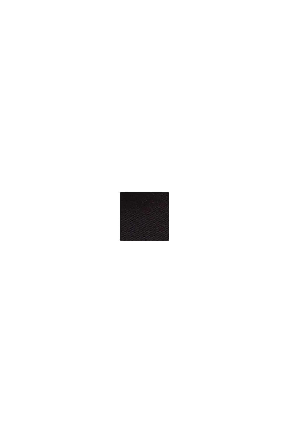 Cargohose aus Organic Cotton, BLACK, swatch