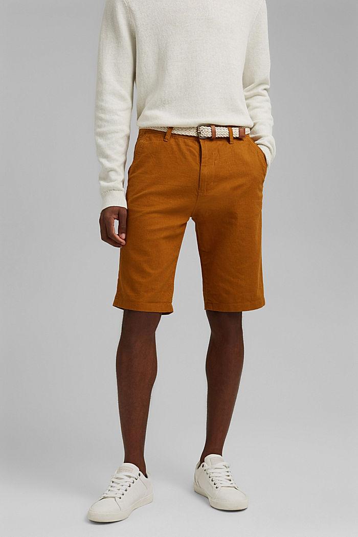 Shorts woven, RUST ORANGE, detail image number 0
