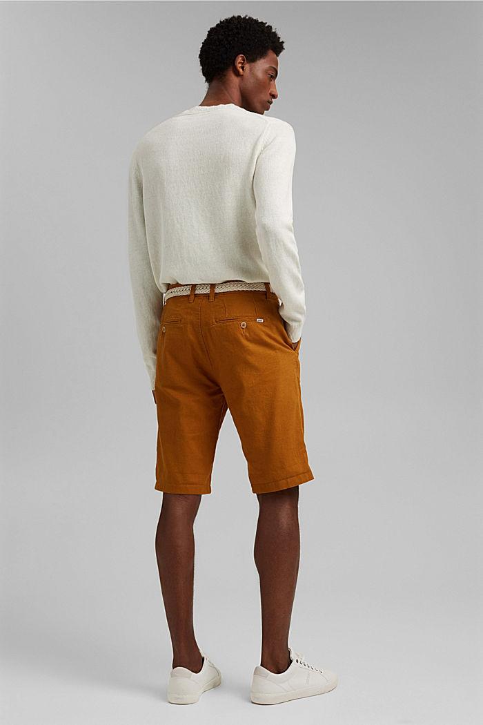 Shorts woven, RUST ORANGE, detail image number 3