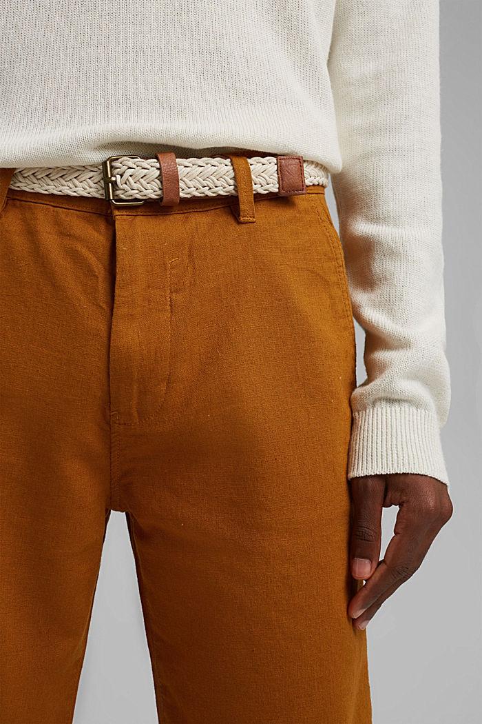 Shorts woven, RUST ORANGE, detail image number 2