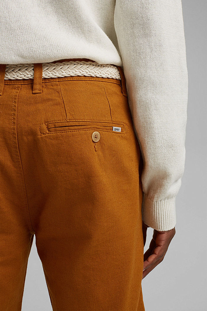 Shorts woven, RUST ORANGE, detail image number 5