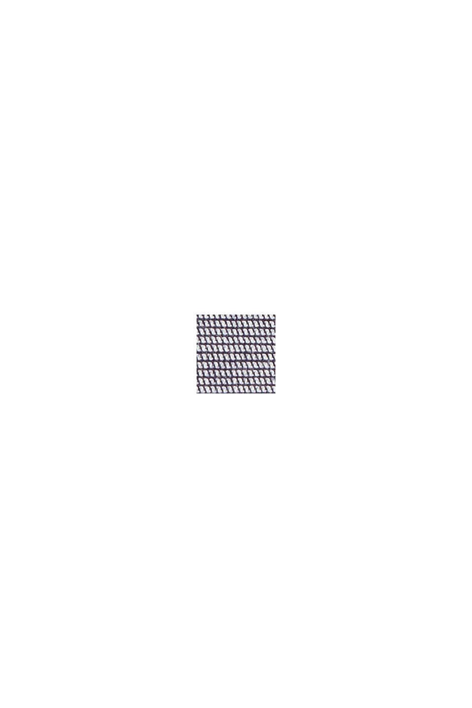 Bomullsshorts med skärp, DARK BLUE, swatch