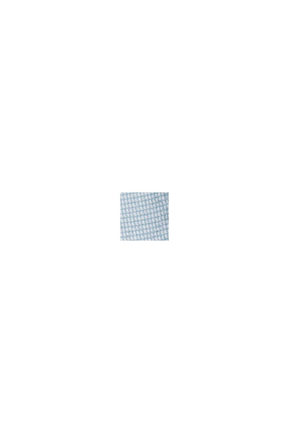 Bomullsshorts med skärp, LIGHT BLUE, swatch