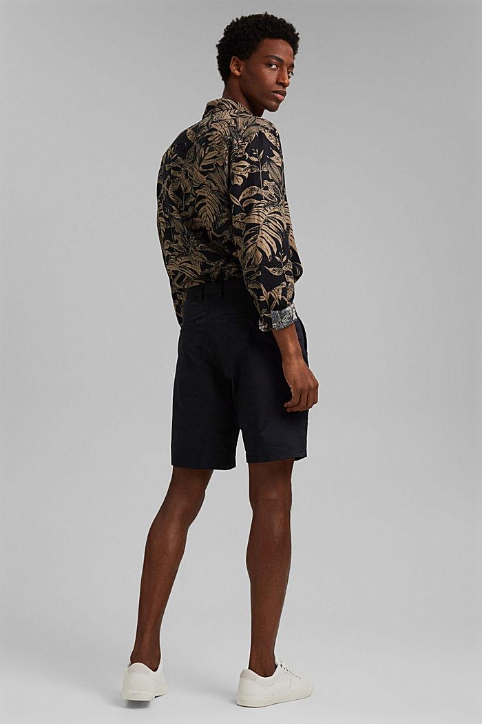 Shorts mit COOLMAX®, Organic Cotton, BLACK, detail image number 3