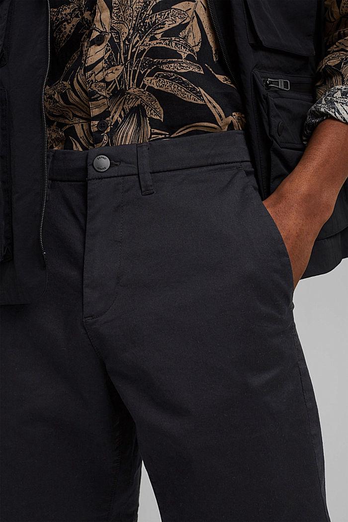 Shorts mit COOLMAX®, Organic Cotton, BLACK, detail image number 2