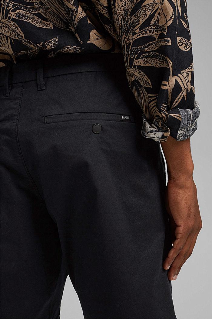 Shorts mit COOLMAX®, Organic Cotton, BLACK, detail image number 4