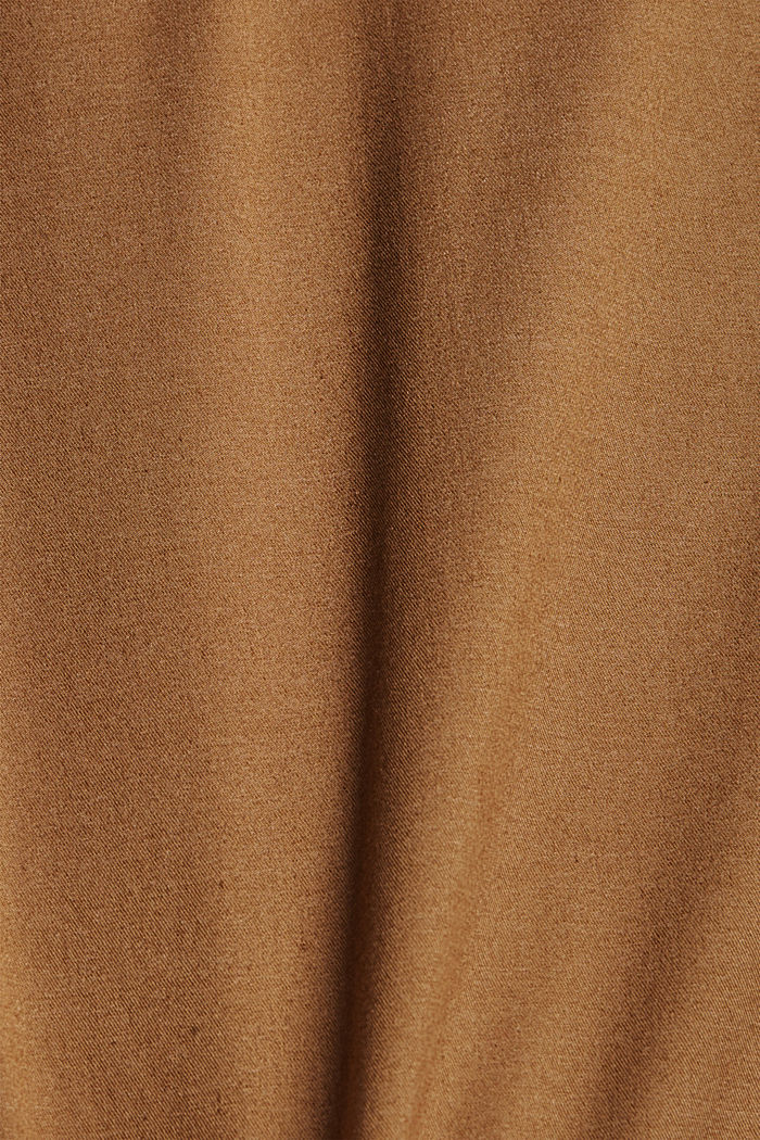 Shorts mit COOLMAX®, Organic Cotton, CAMEL, detail image number 4