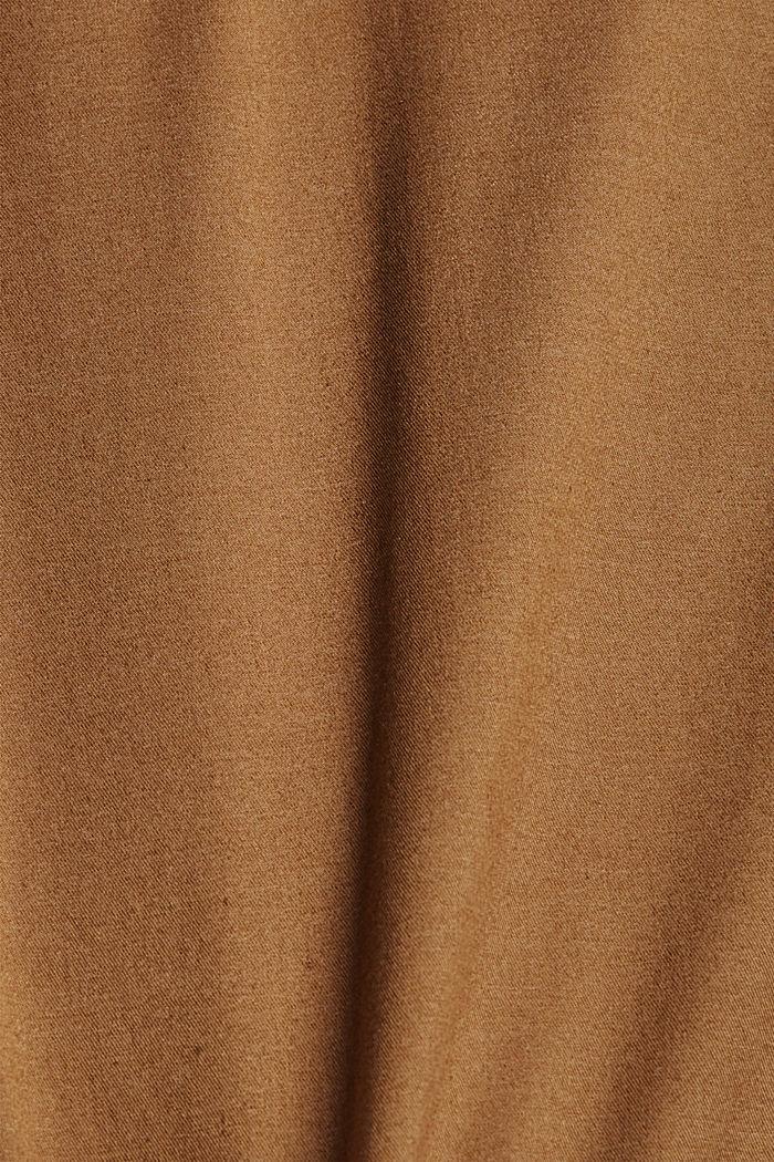 Szorty z COOLMAX®, bawełna organiczna, CAMEL, detail image number 4