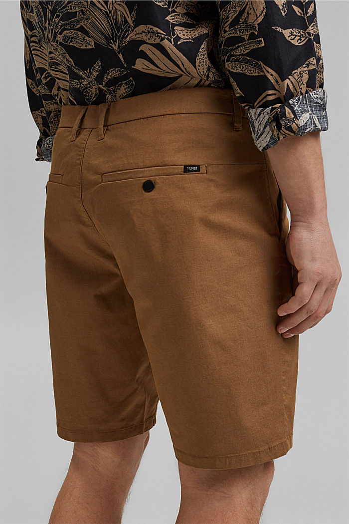 Shorts mit COOLMAX®, Organic Cotton, CAMEL, detail image number 5