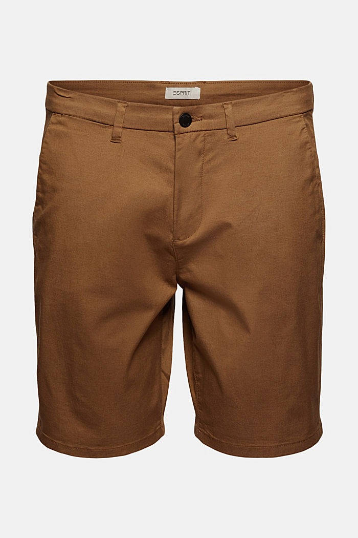 Shorts mit COOLMAX®, Organic Cotton, CAMEL, detail image number 7