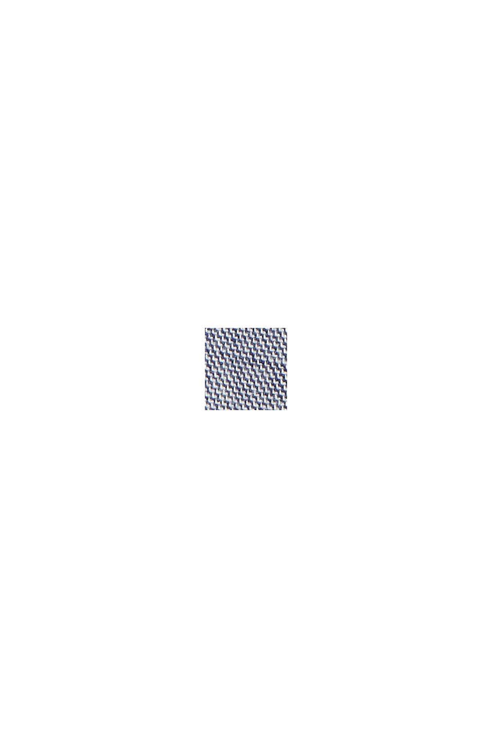 Chambray short van biologisch katoen, DARK BLUE, swatch