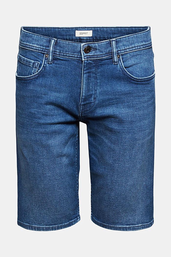 Denim shorts with COOLMAX®, organic cotton