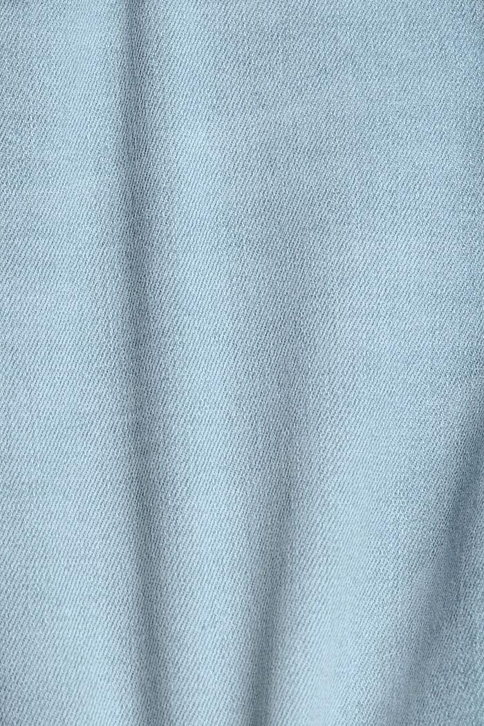 Jeans-Shorts mit COOLMAX®, Organic Cotton, BLUE BLEACHED, detail image number 4