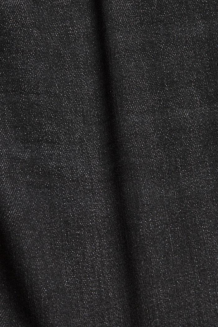 Short en jean à teneur en coton biologique, DARK GREY WASHED, detail image number 4