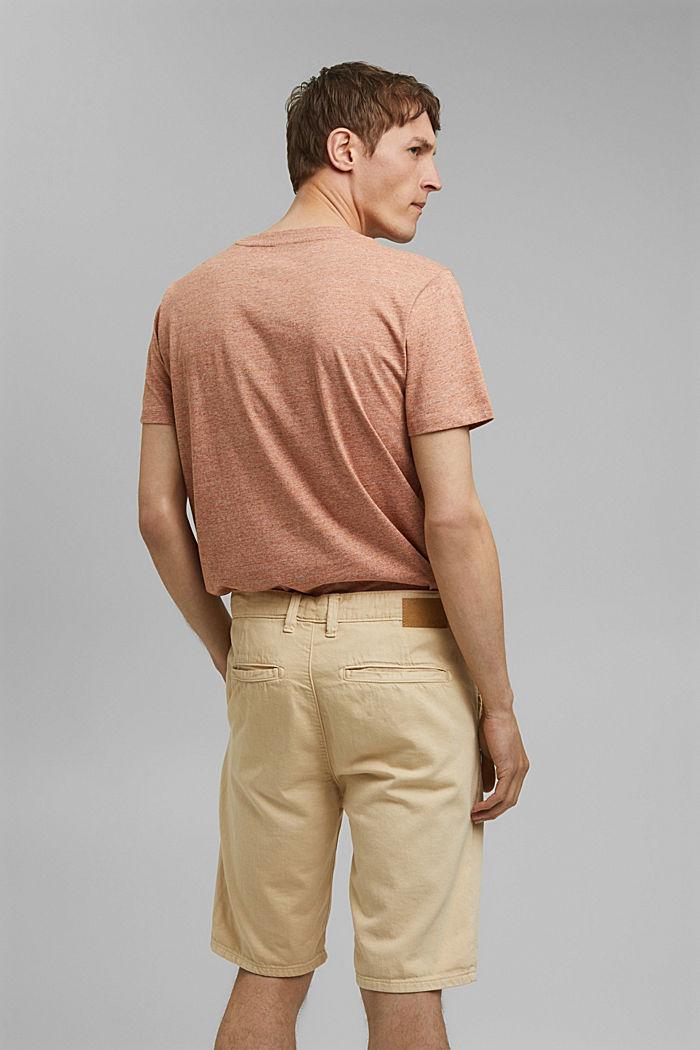 #ReimagineNaturalLifestyle: le short coton bio, BEIGE, detail image number 3