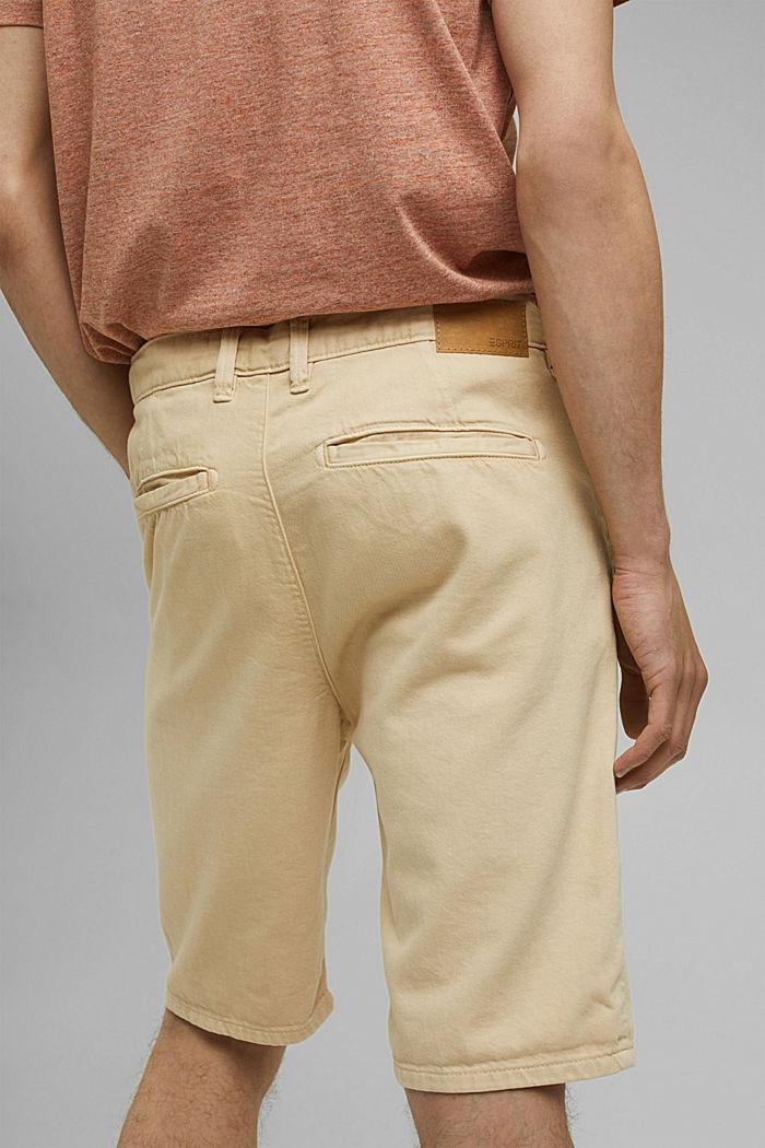 #ReimagineNaturalLifestyle: le short coton bio, BEIGE, detail image number 4