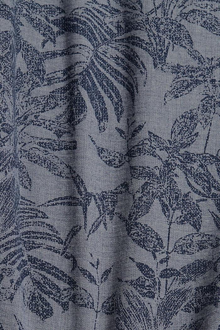 Shorts mit Botanik-Print, Organic Cotton, DARK BLUE, detail image number 4